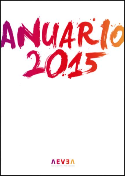 Anuario AEVEA 2015 Portada