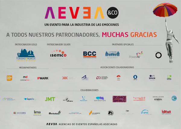 Agradecimientos AEVEA&CO