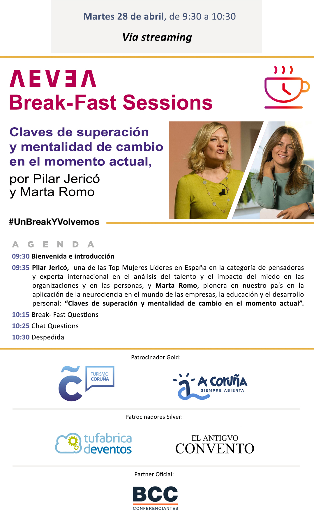 AEVEA Break-Fast Sessions