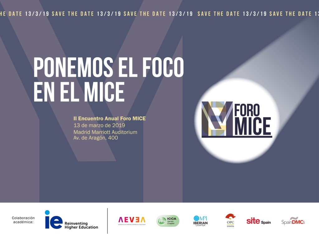 Foro MICE Save The Date