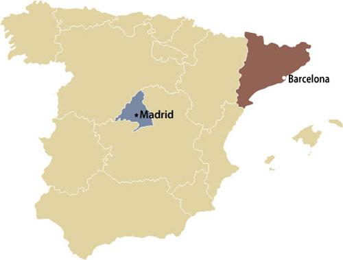 Madrid y Barcelona