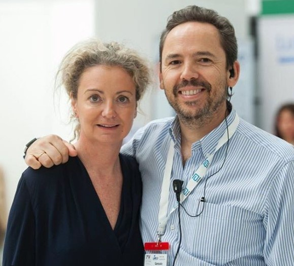 Gonzalo Ibarrondo y Belen Fuentes
